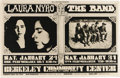 Music Memorabilia:Posters, The Band/Laura Nyro Berkeley Community Center Concert Poster BG-215(Bill Graham, 1970). This California concert had a defi... (Total:1 Item)