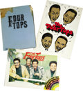 Music Memorabilia:Memorabilia, The Four Tops Japanese Press Kits. A set of three Four Tops press kits from various Japanese tours during the '70s, in fine ... (Total: 1 Item)