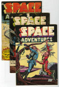Golden Age (1938-1955):Science Fiction, Space Adventures #3, 6, and 7 Group (Charlton, 1952-53).... (Total:3 Comic Books)