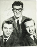 Music Memorabilia:Autographs and Signed Items, Buddy Holly and the Crickets Autographed British Tour Program Book. During their 1958 heyday, Buddy Holly & the Crickets wer... (Total: 1 Item)