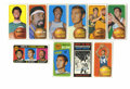 "Basketball Cards:Lots, 1970-71 Topps Basketball Near Complete Set (141/175). A large chunkof the 1970-71 Topps basketball ""tall boys"" are offered..."