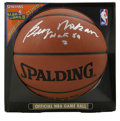 Basketball Collectibles:Balls, George Mikan Single Signed Basketball PSA 10. Officially recognizedas basketball's first true big man, George Mikan has ap...
