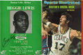 Basketball Collectibles:Others, John Havlicek and Reggie Lewis Signatures Lot of 2. Each of theplayers featured here figured prominently in the history of...