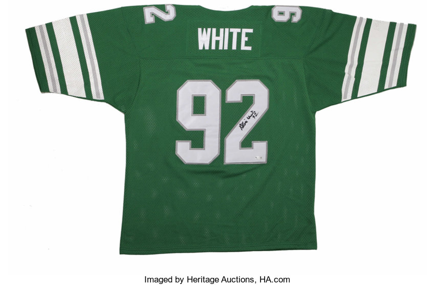 huge discount 57cbd 1a2cb Reggie White Signed Jersey. Recent Hall of Fame inductee and ...