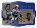 Hockey Collectibles:Others, 1996-97 SPx Tribute Wayne Gretzky Signed Card #GS1. Short-printed insert to the 1996-97 SPx hockey issue, this one featurin...
