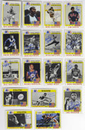 Autographs:Others, 1983 Topps Olympians Complete Set (99), Signed by 50. Complete99-card set Topps issued in '83 to commemorate the greatest p...