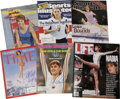 Olympic Collectibles:Autographs, Female Olympic Gold Medal Winners Signed Magazines Lot of 6. Eachof the magazines we offer here has been signed on the fro...