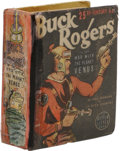 Golden Age (1938-1955):Science Fiction, Big Little Book #1437 Buck Rogers (Whitman, 1938) Condition:Apparent GD. Spine replaced with facsimile, tape on spine, colo...