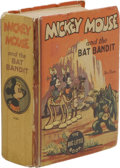 "Platinum Age (1897-1937):Miscellaneous, Big Little Book #1153 Mickey Mouse (Whitman, 1935) Condition:Apparent GD. Features the story ""Mickey Mouse and the Bat Band..."