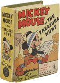"Platinum Age (1897-1937):Miscellaneous, Big Little Book #1401 Mickey Mouse (Whitman, 1937) Condition:GD/VG. Features the story ""Mickey Mouse and the Treasure Hunt...."