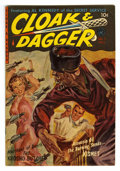 Golden Age (1938-1955):Crime, Cloak and Dagger #1 (Ziff-Davis, 1952) Condition: VF. Norman Saunders painted cover. Based on this copy's provenance, we thi...