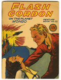 Golden Age (1938-1955):Science Fiction, Flash Gordon Feature Book #25 (Dell, 1941) Condition: FR .Overstreet 2006 GD 2.0 value = $115....