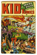 Golden Age (1938-1955):War, Kid Komics #6 (Timely, 1944) Condition: GD. World War II coverfeaturing Bucky, Toro, and the rest of Young Allies invading ...