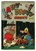 """Golden Age (1938-1955):Funny Animal, Laffy-Daffy Comics #1 Davis Crippen (""""D"""" Copy) pedigree (RuralHome, 1945) Condition: VF. Funny animal stories. Overstreet 2..."""