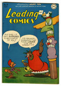 "Golden Age (1938-1955):Funny Animal, Leading Comics #18 Davis Crippen (""D"" Copy) pedigree (DC, 1946)Condition: VF/NM. Funny animal stories. Overstreet 2006 VF/N..."
