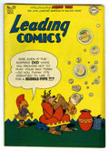 "Golden Age (1938-1955):Funny Animal, Leading Comics #21 Davis Crippen (""D"" Copy) pedigree (DC, 1946)Condition: VF/NM. Nero Fox cover. Overstreet 2006 VF/NM 9.0 ..."