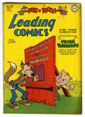 "Golden Age (1938-1955):Funny Animal, Leading Comics #27 Davis Crippen (""D"" Copy) pedigree (DC, 1947)Condition: FN+. Funny animal stories. Overstreet 2006 FN 6.0..."