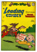 "Golden Age (1938-1955):Funny Animal, Leading Comics #30 Davis Crippen (""D"" Copy) pedigree (DC, 1948)Condition: VF+. Funny animal stories. Overstreet 2006 VF 8.0..."
