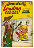 "Golden Age (1938-1955):Funny Animal, Leading Comics #32 Davis Crippen (""D"" Copy) pedigree (DC, 1948) Condition: VF/NM. Funny animal stories. Overstreet 2006 VF/N..."