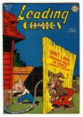 "Golden Age (1938-1955):Funny Animal, Leading Comics #33 Davis Crippen (""D"" Copy) pedigree (DC, 1948)Condition: VF+. Funny animal stories. Overstreet 2006 VF 8.0..."