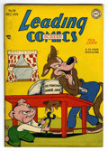 "Golden Age (1938-1955):Funny Animal, Leading Screen Comics #34 Davis Crippen (""D"" Copy) pedigree (DC,1948) Condition: VF. Funny animal stories. Overstreet 2006 ..."