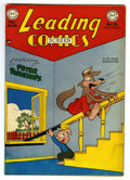 "Golden Age (1938-1955):Funny Animal, Leading Screen Comics #35 Davis Crippen (""D"" Copy) pedigree (DC,1949) Condition: VG/FN. Funny animal stories. Overstreet 20..."