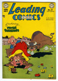 "Golden Age (1938-1955):Funny Animal, Leading Comics #37 Davis Crippen (""D"" Copy) pedigree (DC, 1949)Condition: FN. Funny animal stories. Overstreet 2006 FN 6.0 ..."