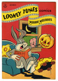 "Golden Age (1938-1955):Cartoon Character, Looney Tunes and Merrie Melodies Comics #61 Davis Crippen (""D""Copy) pedigree (Dell, 1946) Condition: VF-. Overstreet 2006 V..."