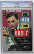 Silver Age (1956-1969):Adventure, Man from U.N.C.L.E. #4 File Copy (Gold Key, 1966) CGC NM+ 9.6 Off-white to white pages. Photo cover. Photo pin-up back cover...