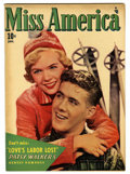 "Golden Age (1938-1955):Romance, Miss America Magazine V7#18 Davis Crippen (""D"" Copy) pedigree(Timely, 1949) Condition: VF+. Photo cover. Overstreet 2006 VF..."
