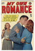 Golden Age (1938-1955):Romance, My Own Romance #4 Mile High pedigree (Marvel, 1949) Condition: NM.Photo cover. First issue of this title. Was formerly My...