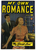 Golden Age (1938-1955):Romance, My Own Romance #7 Mile High pedigree (Marvel, 1949) Condition: NM-.Photo cover. Overstreet 2006 NM- 9.2 value = $90. From...