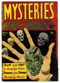Golden Age (1938-1955):Horror, Mysteries Weird and Strange #3 (Superior, 1953) Condition: VG.Skull cover. Overstreet 2006 VG 4.0 value = $46. From theC...