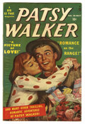 "Golden Age (1938-1955):Romance, Patsy Walker #28 Davis Crippen (""D"" Copy) pedigree (Atlas, 1950)Condition: FN+. Overstreet 2006 FN 6.0 value = $30; VF 8.0 ..."