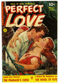 Golden Age (1938-1955):Romance, Perfect Love #3 Mile High pedigree (Ziff-Davis, 1951) Condition:VF/NM. Painted cover. Overstreet 2006 VF/NM 9.0 value = $90...