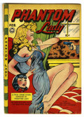 "Golden Age (1938-1955):Crime, Phantom Lady #16 (Fox Features Syndicate, 1948) Condition: VG. MattBaker provides the ""good girl"" art. Lingerie covers and ..."
