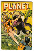 Golden Age (1938-1955):Science Fiction, Planet Comics #42 (Fiction House, 1946) Condition: VG+. Misbound.Murphy Anderson and Lily Renee art. Overstreet 2006 VG 4.0...