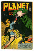 Golden Age (1938-1955):Science Fiction, Planet Comics #47 (Fiction House, 1947) Condition: FN-. Lily Renee,George Evans, and Murphy Anderson art. Overstreet 2006 F...