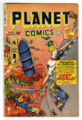 Golden Age (1938-1955):Science Fiction, Planet Comics #63 (Fiction House, 1949) Condition: FN. GeorgeEvans, Joe Cavallo, and John Rosenberger art Overstreet 2006 F...