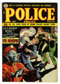 Golden Age (1938-1955):Crime, Police Comics #105 Mile High pedigree (Quality, 1951) Condition: NM-. Slight color touch on cover. Overstreet 2006 NM- 9.2 v...