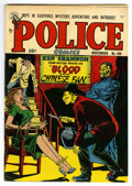 Golden Age (1938-1955):Crime, Police Comics #109 Mile High pedigree (Quality, 1951) Condition: VF. Bondage cover. Atomic bomb story. Overstreet 2006 VF 8....