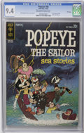 Bronze Age (1970-1979):Cartoon Character, Popeye File Copies CGC Group (Gold Key, 1962-64). Includes CGC NM9.4 copies of #66 (84 pages, first Gold Key issue, Bud... (Total: 5Comic Books)