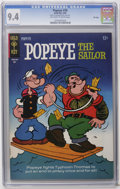 Bronze Age (1970-1979):Cartoon Character, Popeye CGC File Copy Group (Gold Key, 1965-66) CGC NM 9.4. ContainsCGC NM 9.4 copies of #76, #77 (back cover pin-up), 7... (Total: 4Comic Books)