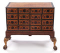 Furniture , AN ENGLISH CHEST OF DRAWERS ON STAND . 17th century in part . 32-1/2 x 23-1/2 x 21 inches (82.6 x 59.7 x 53.3 cm). ... (Total: 2 Items)