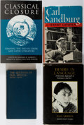 Books:Biography & Memoir, [Literature]. Group of Four Related Books. Carl Sandburg, HenryJames and Others. Various publishers. Good or better conditi...