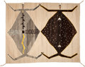 American Indian Art:Weavings, A NAVAJO SANDPAINTING WEAVING. c. 1940...