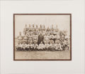 Autographs:Photos, The Only Known 1932 New York Yankees Team Signed Photograph....