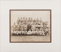 The Only Known 1932 New York Yankees Team Signed Photograph