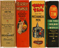 Big Little Book:Miscellaneous, Big Little Book Group (Whitman, 1937-45) Condition: AverageVF/NM.... (Total: 4 Items)