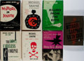 Books:Mystery & Detective Fiction, Brett Halliday. Group of Seven First Edition, First Printing Books.Dodd, Mead. Very good....